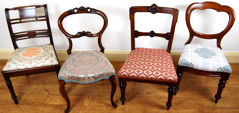 Upholstered Antique Chairs - Upholstered Antique Chairs Antique Furniture